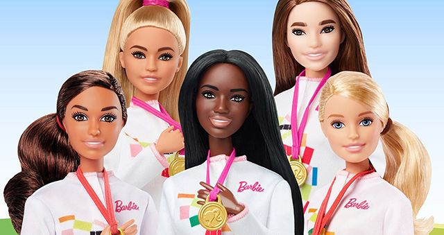 New Barbie Dolls Dedicated for 2020 Summer Olympic Games