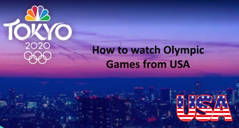 olympics 2021 live online in USA