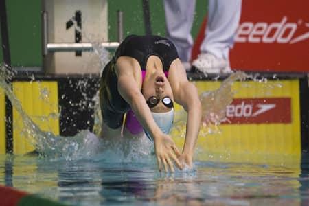 olympics backstroke swimming