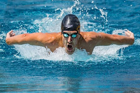 olympics butterfly swimming