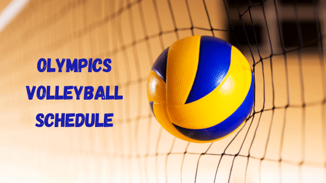 Olympic Volleyball Schedule