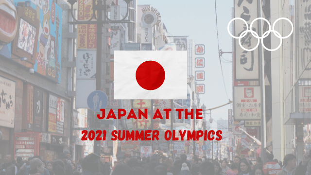 Japan at Olympics 2021